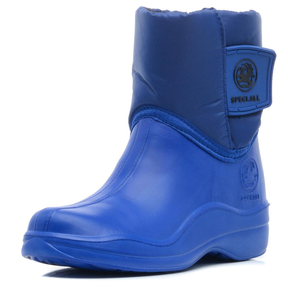 Сапоги резиновые для мальчика Speci.All, цвет: синий. 313 УТЛ. Размер 31/32313 УТЛПолусапожки детские утепленные.