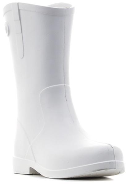 Сапоги резиновые женские ANRA, цвет: белый. 750. Размер 37/38750Сапоги женские из ЭВА.