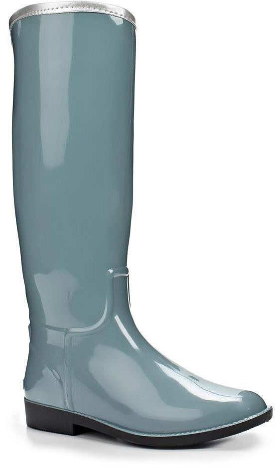 Резиновые сапоги женские Anra, цвет: серый. 365М-00. Размер 39365М-00Женские резиновые сапоги от Anra выполнены из ПВХ. Модель с высоким голенищем дополнена стелькой с поверхностью из текстиля.