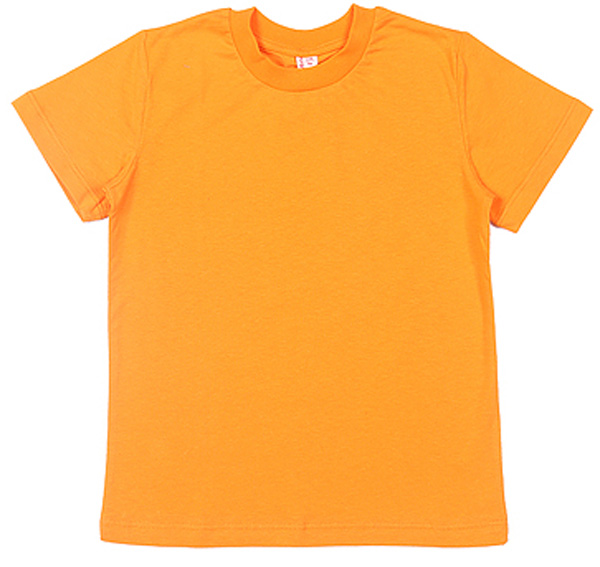 Футболка для мальчика Cherubino, цвет: оранжевый. CAK 6930. Размер 116CAK 6930Базовая футболка для мальчика, гладкокрашенная.