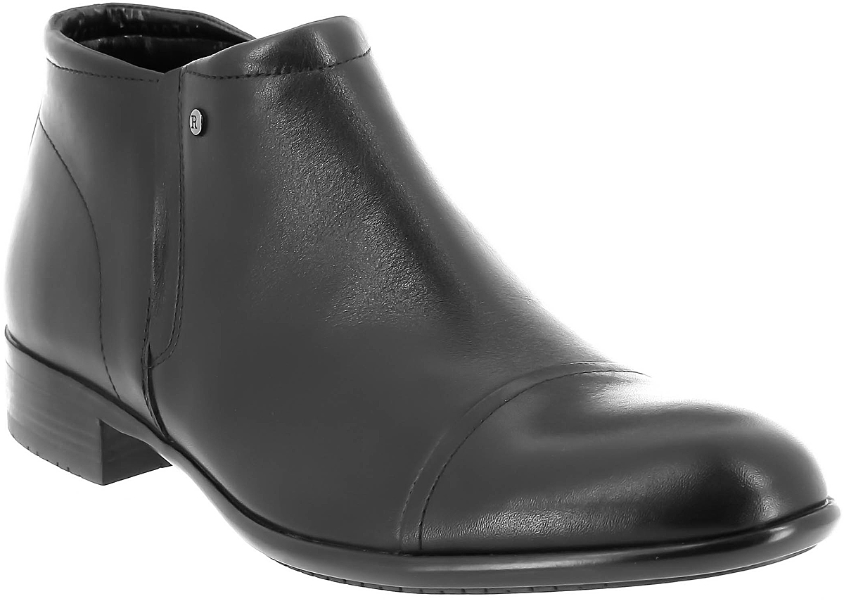 Ботинки мужские Ralf Ringer Kevin, цвет: черный. 563318ЧН. Размер 43563318ЧНПрактичные ботинки в универсальном цвете - отличное решение для повседневной носки в холодное время года. Модель из натуральной кожи оснащена застежкой-молнией. Подкладка из шерсти не позволит ногам замерзнуть в холодное время года. Это отличный вариант, который придется по вкусу даже самому взыскательному моднику.