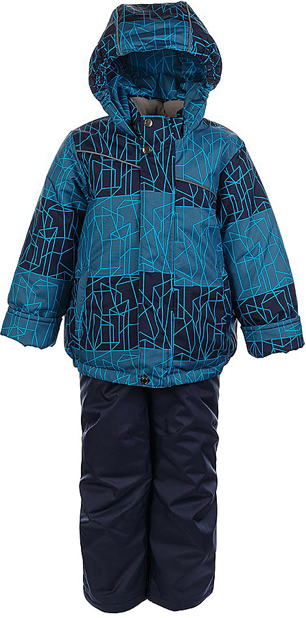 Комплект для мальчика Jicco By Oldos Сэм: куртка и полукомбинезон, цвет: синий, голубой. 1J7SU09. Размер 98, 3 года1J7SU09Комплект для мальчика Jicco By Oldos, состоящий из куртки и полукомбинезона, выполнен из полиэстера с водо-грязеотталкивающей пропиткой. Гипоаллергенный утеплитель сохраняет тепло и быстро сохнет. Подкладка-флис, в рукавах и брючинах - гладкий полиэстер. Куртка дополнена капюшоном, воротником - стойкой и двумя карманами на молниях. Изделие застегивается на молнию, имеет двойную ветрозащитную планку. Рукава с отворотом и внутренней трикотажной саморегулирующейся манжетой. Эластичная талия полукомбинезона и регулируемые подтяжки гарантируют посадку по фигуре, длинная молния впереди облегчает процесс одевания. Изделие имеет светоотражающие элементы.