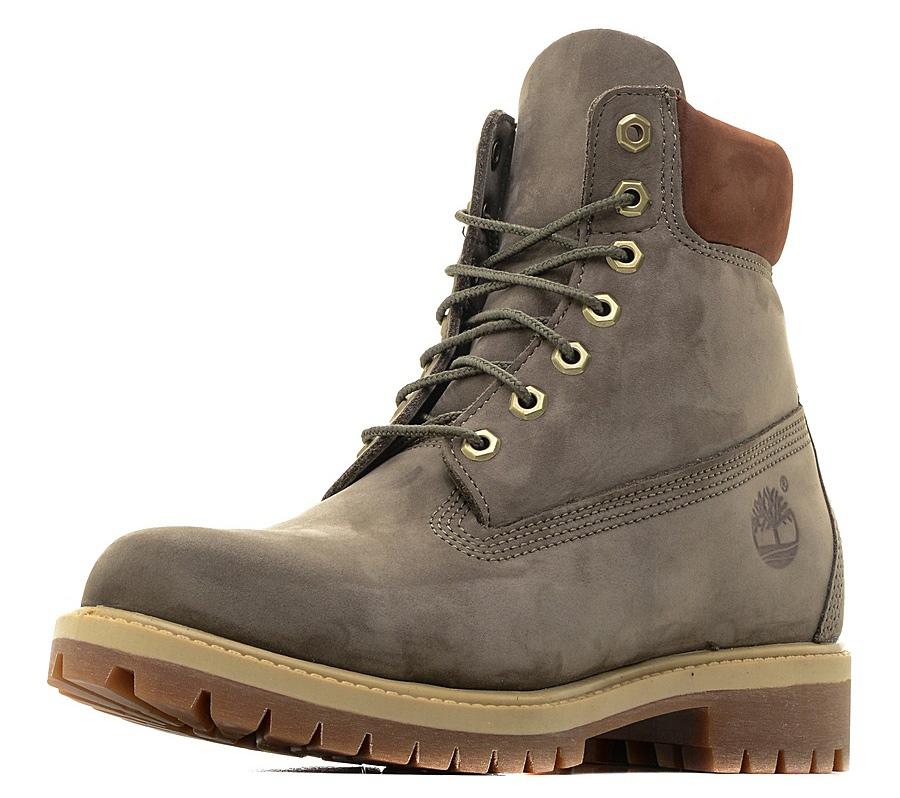 Ботинки мужские Timberland 6 Premium Boot, цвет: хаки. TBLA1LXJW. Размер 10 (43)TBLA1LXJWСтильные ботинки Timberland не оставят вас равнодушным. Модель на классической шнуровке, выполнена из натуральной замши и оформлена сбоку тиснением в виде логотипа бренда. Внутренняя поверхность и стелька изготовлены из натуральной кожи. Модель дополнена мягким валиком для комфортной посадки вокруг лодыжки. Подошва с рифлением обеспечивает идеальное сцепление с любыми поверхностями. Такие чудесные ботинки займут достойное место в вашем гардеробе.