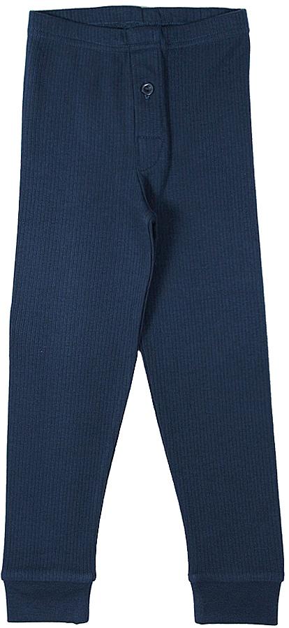 термобелье брюки для мальчика Cherubino, цвет: темно-синий. CWK 1040. Размер 116CWK 1040Кальсоны для мальчика, из плотного хлопкового трикотажа в рубчик.