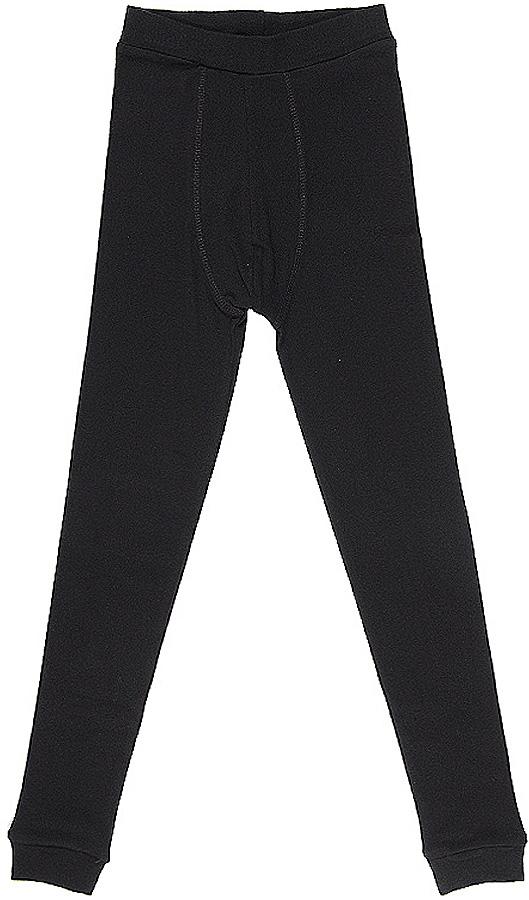 термобелье брюки для мальчика Cherubino, цвет: черный. CWJ 1129. Размер 152CWJ 1129Кальсоны для мальчика из мягкого хлопкового трикотажа, с манжетами по низу изделия.