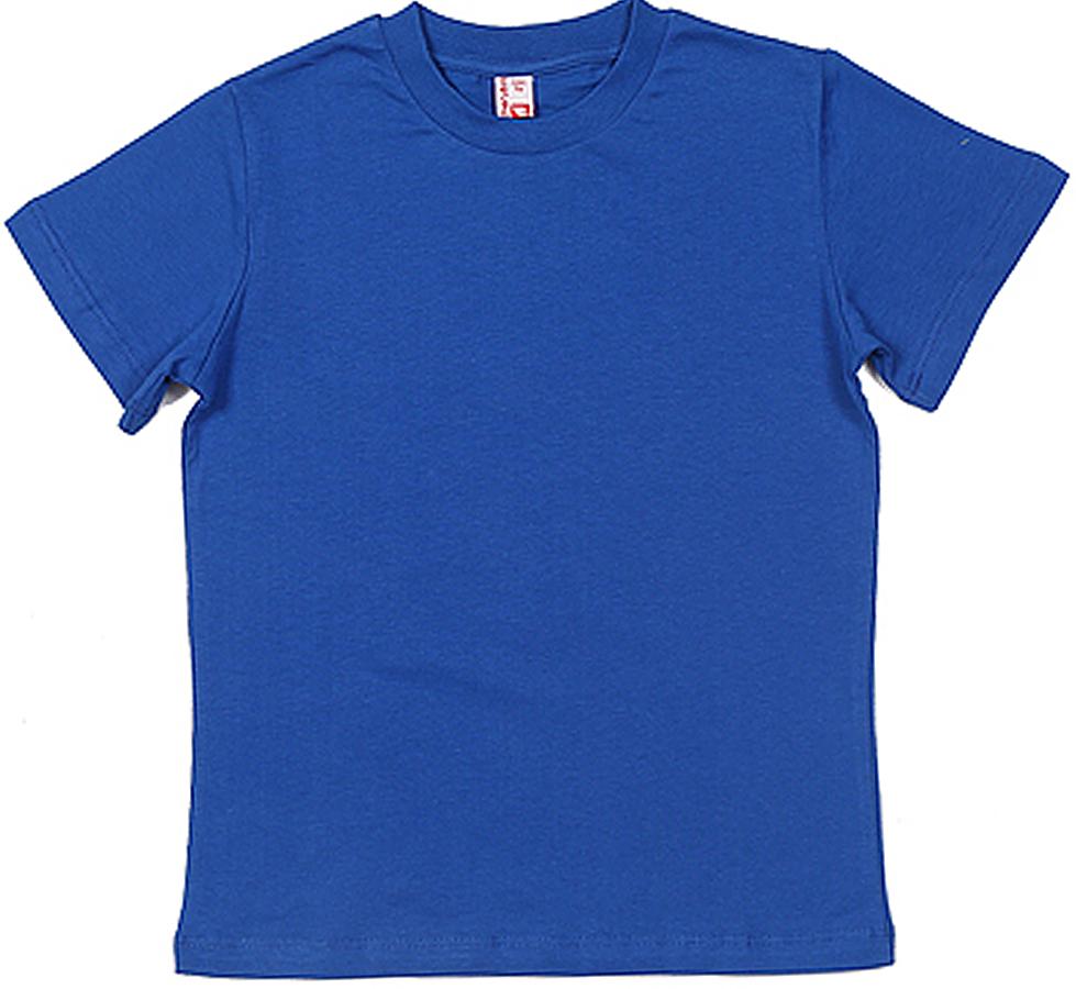Футболка для мальчика Cherubino, цвет: василек. CAJ 6931. Размер 158CAJ 6931Базовая футболка для мальчика, гладкокрашенная.