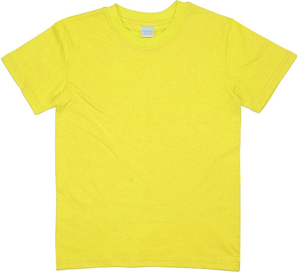 Футболка для мальчика Cherubino, цвет: желтый. CAK 6930. Размер 110CAK 6930Базовая футболка для мальчика, гладкокрашенная.