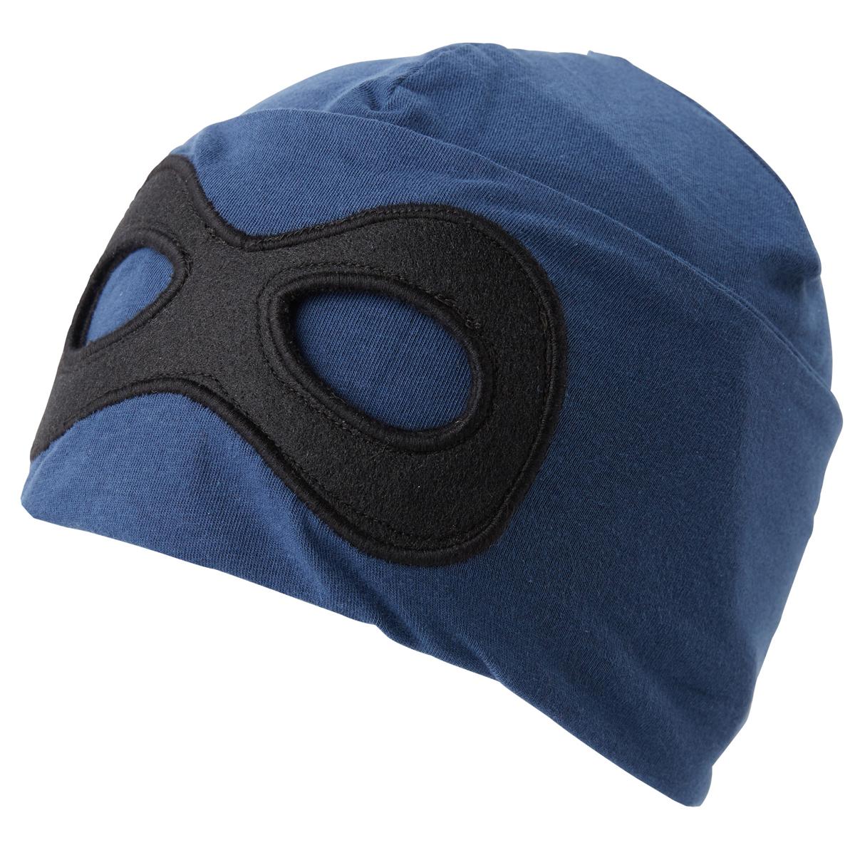 Шапка для мальчика Tom Tailor, цвет: синий. 0221631.00.82_6758. Размер 54/560221631.00.82_6758Шапка для мальчика от Tom Tailor выполнена из эластичного хлопкового трикотажа с добавлением вискозы. Спереди шапка оформлена имитацией маски.