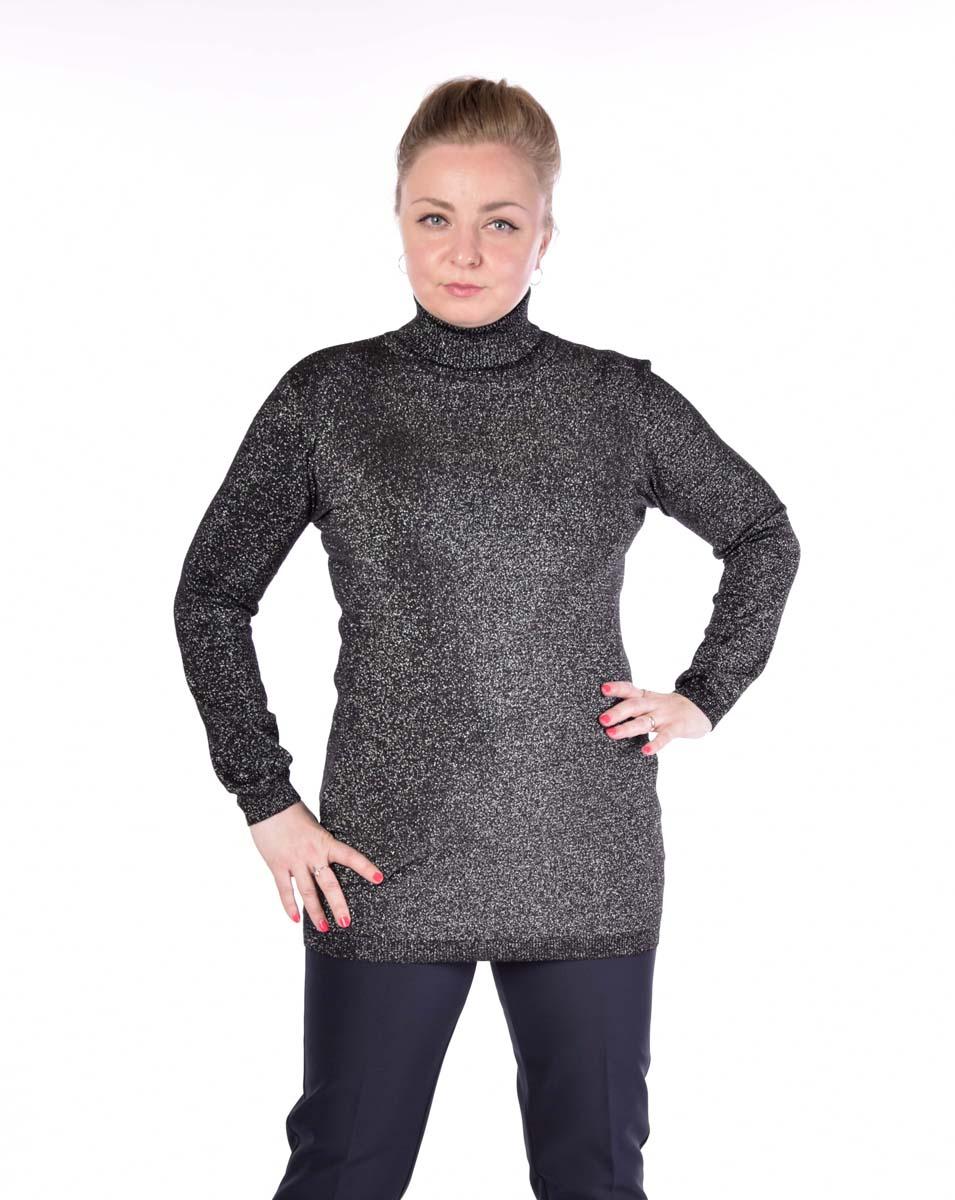 Водолазка женская Pettli Collection, цвет: черный. 50063. Размер 42/4450063