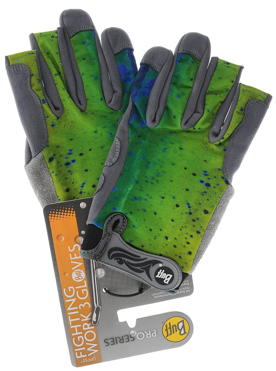 Перчатки рыболовные Buff Fighting Work II Dorado, 108446.00. Размер M/L (7,5-8)Fighting Work II DoradoТехнологичные рыболовные перчатки. Полностью с закрытыми пальцами. Выполнены из стрейтчевой ткани, комфортно облегающей кисть руки. Ладонь перчатки покрыта силиконовым принтом. Фактор защиты от солнца UPF 50+. Удлиненная манжета. Состав: 95% нейлон, 5% лайкра; принт на ладони: 100% силикон, трикотаж.