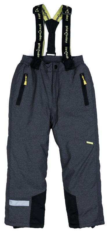 Брюки утепленные для мальчика PlayToday, цвет: серый. 371104. Размер 110371104Теплые брюки PlayToday на регулируемых съемных лямках. Пояс на широкой удобной резинке дополнен застежкой на кнопку, имеется ширинка на молнии. Подкладка из мягкого флиса. Низ штанин с защитными манжетами и регулируемым шнуром-кулиской. Модель дополнена втачными карманами. Светоотражатели обеспечат безопасность ребенка в темное время суток.