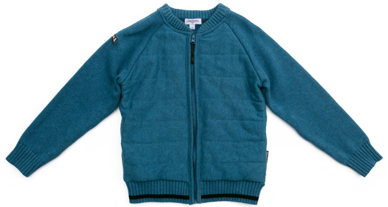 Кардиган для мальчика PlayToday, цвет: голубой. 371106. Размер 128371106