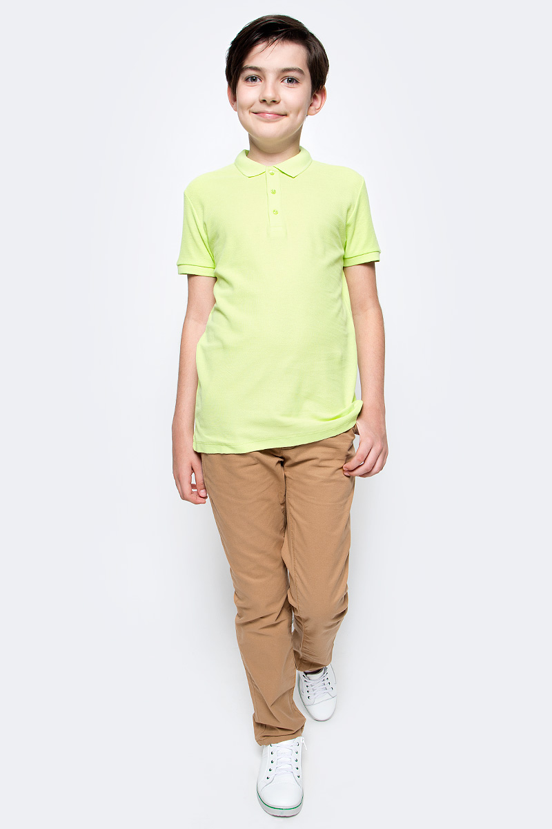Брюки для мальчика Sela, цвет: бежевый. P-815/254-6141. Размер 152, 12 летP-815/254-6141Стильные брюки для мальчика Sela идеально подойдут юному моднику. Изготовленные из натурального хлопка, они мягкие и приятные на ощупь, не сковывают движения и позволяют коже дышать, обеспечивая наибольший комфорт. Брюки на талии застегиваются на пуговицу и имеют ширинку на застежке-молнии, а также шлевки для ремня. С внутренней стороны пояс регулируется скрытой резинкой на пуговицах. Модель имеет пятикарманный крой: спереди - два втачных кармана и один маленький прорезной, а сзади - два прорезных кармана, закрывающихся на пуговицы.Современный дизайн и расцветка делают эти брюки модным предметом детской одежды. В них ребенок всегда будет в центре внимания!