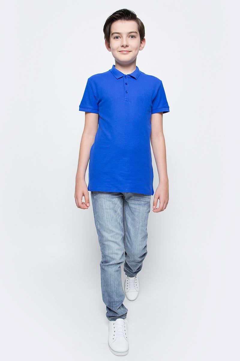 Джинсы для мальчика Sela Denim, цвет: голубой джинс. PJ-835/344-7243. Размер 152, 12 летPJ-835/344-7243Стильные джинсы для мальчика Sela выполнены из качественного эластичного материала с эффектом потертостей. Джинсы зауженного кроя и стандартной посадки на талии застегиваются на пуговицу и имеют ширинку на застежке-молнии. На поясе имеются шлевки для ремня. Модель представляет собой классическую пятикарманку: два втачных и накладной кармашек спереди и два накладных кармана сзади.