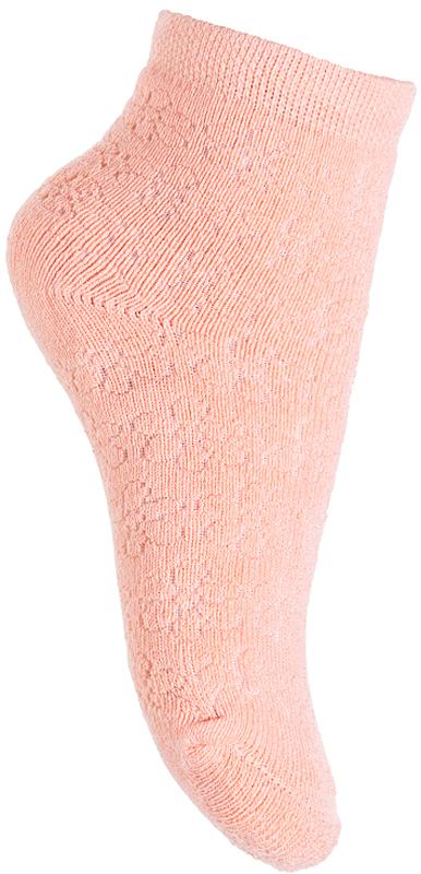 Носки для девочки PlayToday, цвет: розовый. 378088. Размер 11378088Носки PlayToday очень мягкие, выполненные, из натуральных материалов, приятные к телу и не сковывают движений. Хорошо пропускают воздух, тем самым позволяя коже дышать. Даже частые стирки, при условии соблюдений рекомендаций по уходу, не изменят ни форму, ни цвет изделия. Мягкая резинка не сдавливает нежную детскую кожу.