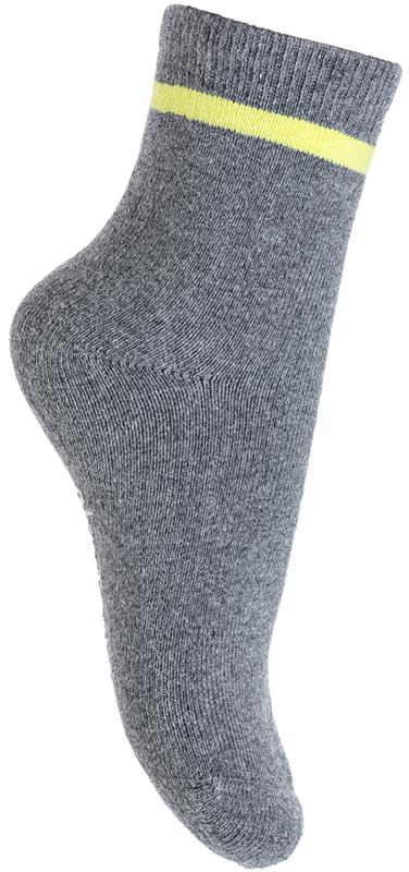Носки для мальчика PlayToday, цвет: темно-серый. 371135. Размер 18371135Махровые носки PlayToday очень мягкие, выполненные, из натуральных материалов, приятные к телу и не сковывают движений. Хорошо пропускают воздух, тем самым позволяя коже дышать. Даже частые стирки, при условии соблюдений рекомендаций по уходу, не изменят ни форму, ни цвет изделия. Мягкая резинка не сдавливает нежную детскую кожу.