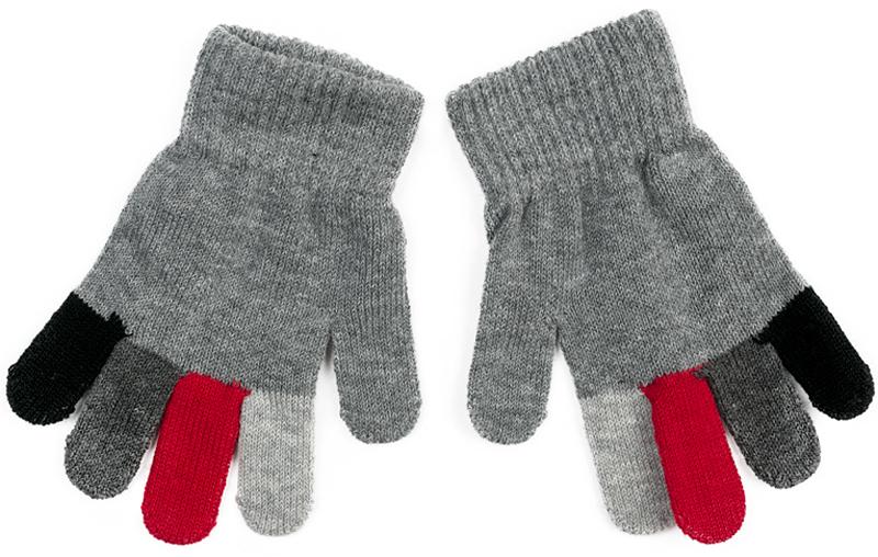 Перчатки для мальчика PlayToday, цвет: серый. 371032. Размер 13371032Вязаные перчатки PlayToday станут идеальным вариантом для прохладной погоды. Они очень мягкие, хорошо тянутся и прекрасно сохраняют тепло. На манжетах - плотная резинка, которая хорошо держит перчатки на руках ребенка. Модель выполнена в технике Yarn Dyed - в процессе производства используются разного цвета нити. Изделие, при рекомендуемом уходе, не линяет и надолго остается в прежнем виде.