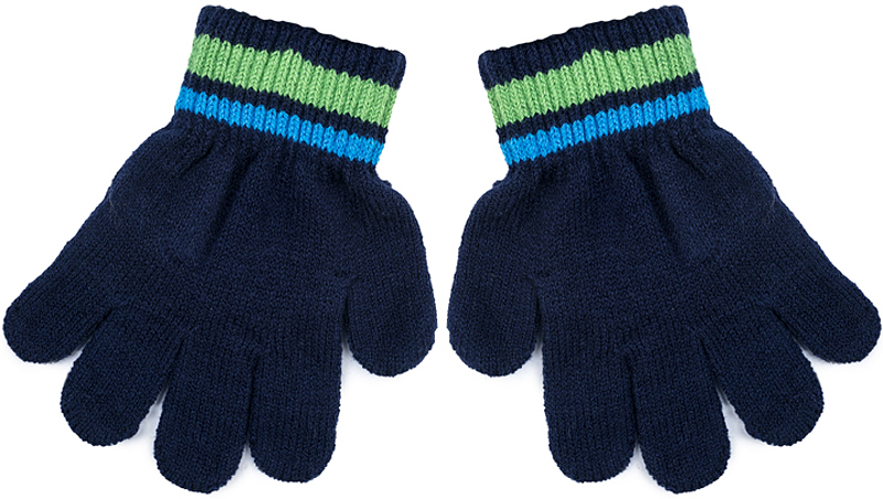 Перчатки для мальчика PlayToday, цвет: синий. 371178. Размер 15371178Вязаные перчатки PlayToday станут идеальным вариантом для прохладной погоды. Они очень мягкие, хорошо тянутся и прекрасно сохраняют тепло. На манжетах - плотная резинка, которая хорошо держит перчатки на руках ребенка.