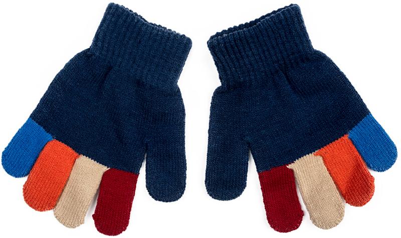 Перчатки для мальчика PlayToday, цвет: темно-синий. 371080. Размер 15371080Вязаные перчатки PlayToday станут идеальным вариантом для прохладной погоды. Они очень мягкие, хорошо тянутся и прекрасно сохраняют тепло. На манжетах - плотная резинка, которая хорошо держит перчатки на руках ребенка. Модель выполнена в технике Yarn Dyed - в процессе производства используются разного цвета нити. Изделие, при рекомендуемом уходе, не линяет и надолго остается в прежнем виде.