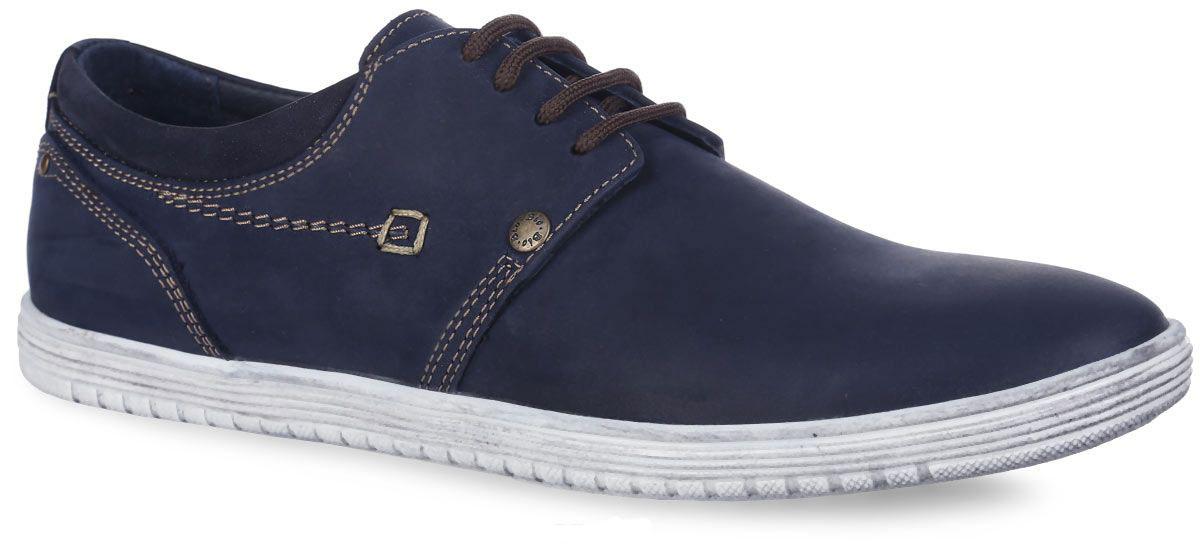 Полуботинки для мальчика Зебра, цвет: темно-синий. 10230-5. Размер 4010230-5Стильные полуботинки от Зебра займут достойное место среди коллекции обуви вашего мальчика. Модель выполнена из натуральной кожи. Подъем оформлен шнуровкой, которая надежно зафиксирует обувь на ноге. Внутренняя поверхность и стелька, изготовленные из натуральной кожи, обеспечат ногам комфорт и уют. Стелька дополнена супинатором с перфорацией, который обеспечивает правильное положение стопы ребенка при ходьбе и предотвращает плоскостопие. Подошва с рифлением гарантирует отличное сцепление с любой поверхностью. Трендовые полуботинки придутся по душе вашему мальчику.