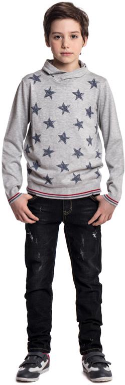Джинсы для мальчика Scool, цвет: черный. 373012. Размер 158373012Классические джинсы Scool из эластичного хлопка - отличное решение для повседневного гардероба. Добавление в материал эластана позволяет изделию хорошо сесть по фигуре. Брюки декорированы потертостями. За счет наличия шлевок можно использовать ремень.