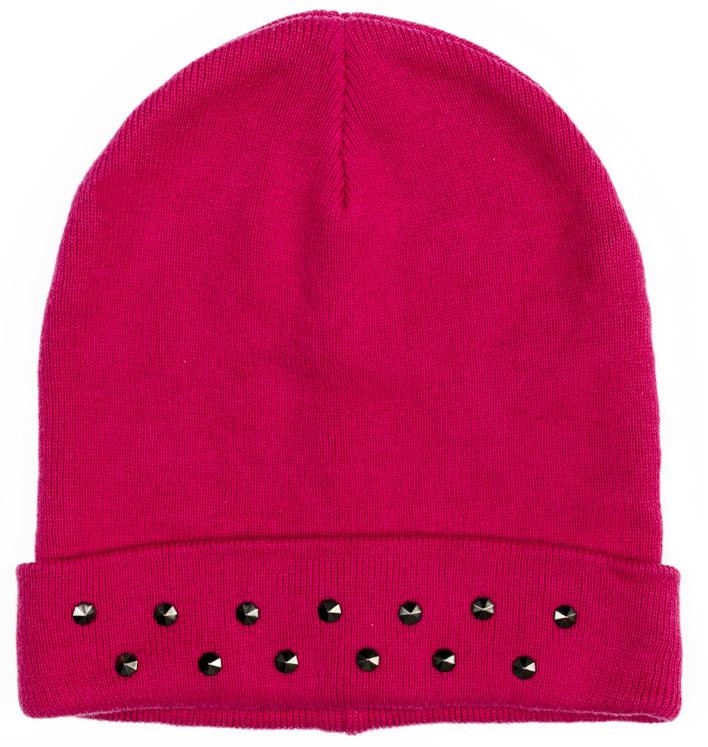 Шапка для девочки Scool, цвет: розовый. 374029. Размер 54374029Двуслойная шапка Scool из мягкого трикотажа - отличное решение для холодной погоды. Модель без завязок, плотно прилегает к голове, комфортна при носке. В качестве декора использована россыпь из страз.