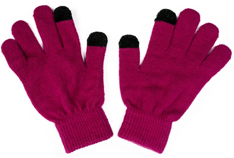 Перчатки для девочки Scool, цвет: розовый. 374041. Размер 18374041Smart Gloves - перчатки для сенсорных экранов! Вязаные перчатки станут идеальным вариантом для прохладной погоды. Они очень мягкие, хорошо тянутся и прекрасно сохраняют тепло. На манжетах - плотная резинка, которая хорошо держит перчатки на руках ребенка. На большом и указательном пальцах вплетены специальные нити, которые позволяют пользоваться телефоном, не снимая перчаток с рук.