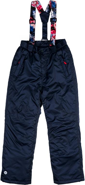 Брюки утепленные для девочки Scool, цвет: темно-синий. 374054. Размер 134374054Теплые брюки Scool выполнены из водонепроницаемой ткани. Регулируемые лямки на липучках, при необходимости их можно отстегнуть. Подкладка из флиса. Пояс брюк на широкой резинке. Модель застегивается на молнию и кнопку. Низ штанин дополнен специальными манжетами на резинках и регулируемыми шнурами-кулисками. Светоотражатели обеспечат видимость ребенка в темное время суток. Брюки с двумя втачными карманами на молниях и двумя задними накладными карманами.