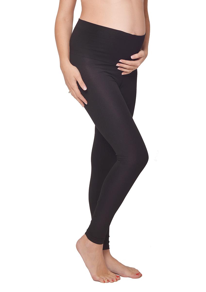 Леггинсы для беременных Мамин Дом, цвет: черный. 635. Размер 44635Удобные леггинсы для беременных Мамин Дом изготовлены из хлопка с добавлением эластана. Эластичные и очень мягкие леггинсы удобно носить как на любом сроке беременности, так и после родов. Модель обеспечивает свободный рост животика, благодаря эластичной резинке, высота которой регулируется по талии и по бедрам. Такие леггинсы станут отличным дополнением к гардеробу будущей мамы и помогут создать неповторимый образ.
