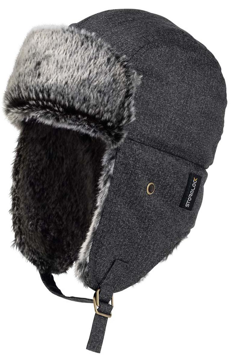 цена  Шапка-ушанка мужская Jack Wolfskin Stormlock Baffin Bay Shapka, цвет: черный. 1906361-6000. Размер L (57/60)  онлайн в 2017 году