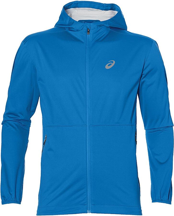 Куртка мужская Asics Accelerate Jacket, цвет: синий. 141235-0819. Размер XL (54)141235-0819Спортивная куртка от Asics станет вашим лучшим другом на разминке, в перерывах между сетами и на корте в прохладную погоду.