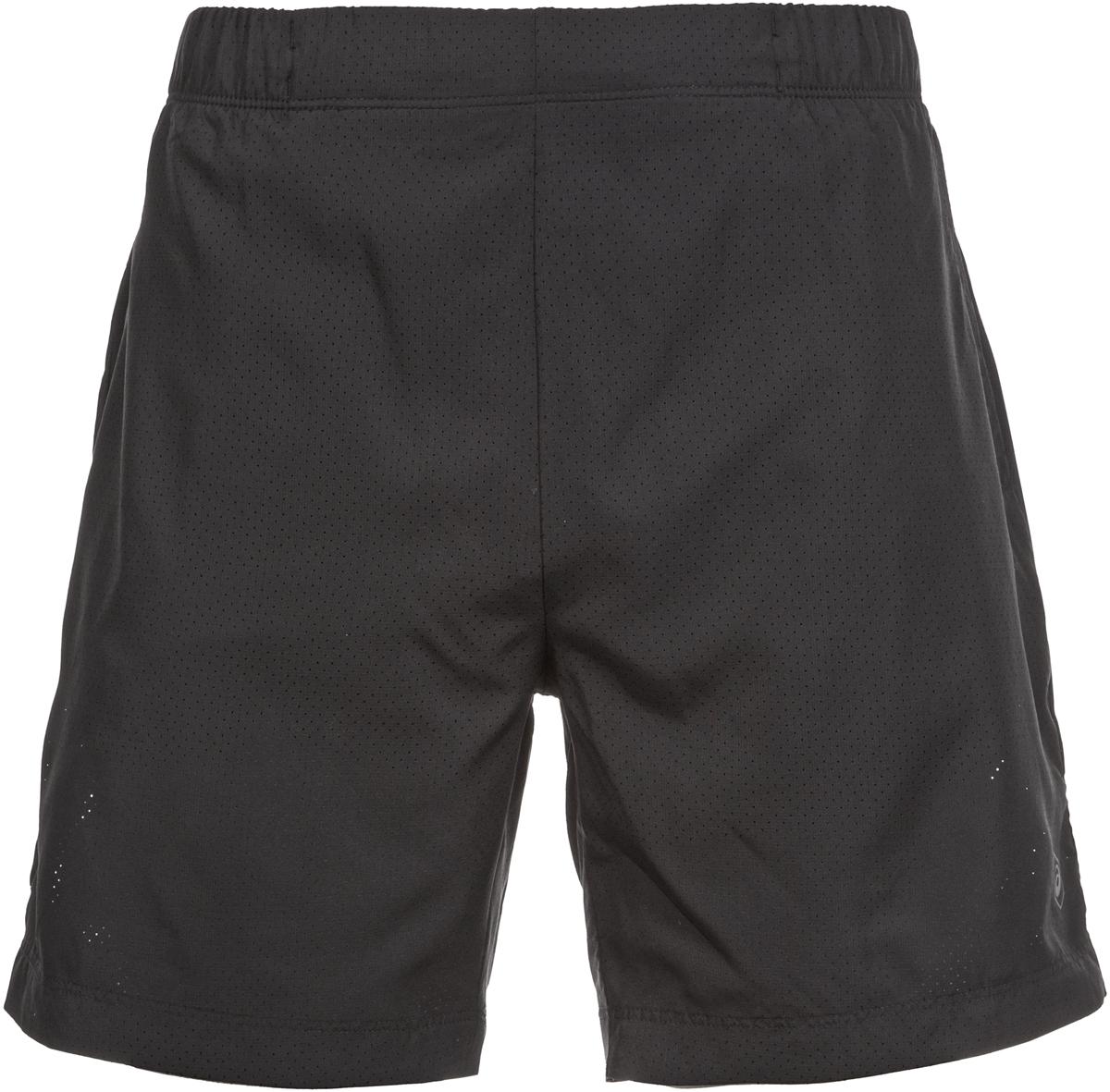 Шорты мужские Asics Fuzex 7In Short, цвет: черный. 141243-0946. Размер L (50/52)141243-0946Эти шорты обеспечивают вам комфорт во время пробежек и занятий, благодаря мягкой. Светоотражающий логотип ASICS