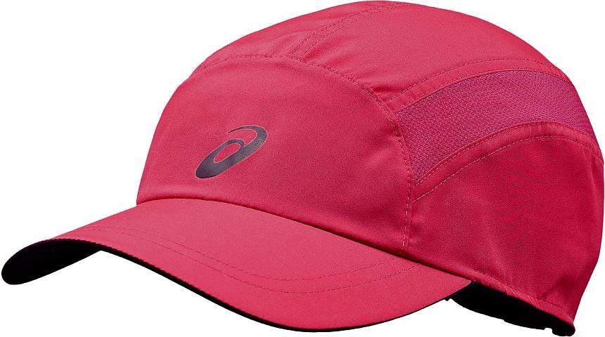 Кепка Asics Essentials Cap, цвет: розовый. 132091-0640. Размер 56/58132091-0640Эта невесомая кепка от Asics защищает глаза от солнца. А после заката светоотражающие детали сделают вас заметнее в темноте. Легкая и дышащая кепка защитит глаза от солнца. Сетчатые вставки и дышащий материал предохраняют от перегрева. Светоотражающая отделка повышает безопасность в темноте.