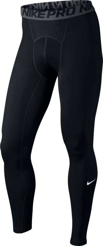 Тайтсы мужские Nike Cool Comp Tight, цвет: черный. 703098-010. Размер XL (52/54)703098-010Мужские компрессионные тайтсы Nike Pro Compression изготовлены из полиэстера с добавлением эластана. Материал хорошо вентилируется, обеспечивая прохладу и комфорт для тренировки. Модель облегающего кроя имеет эластичный пояс.