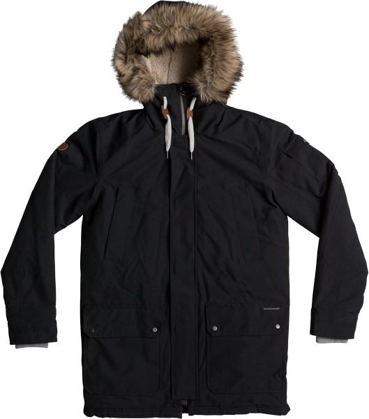 Куртка муж Quiksilver, цвет: черный. EQYJK03332-KVJ0. Размер XXL (54)EQYJK03332-KVJ0