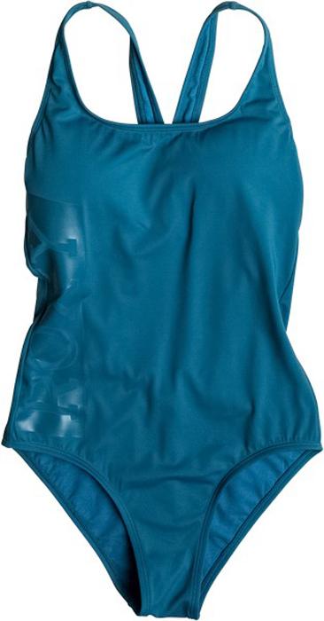 Купальник Roxy, цвет: морская волна. ERJX103084-BRS0. Размер XS (40)ERJX103084-BRS0Слитный купальник Roxy выполнен из мягкого и прочного эластичного материала. Изделие превосходно сохраняет форму и цвет, быстро сохнет. Купальник оформлен надписями.