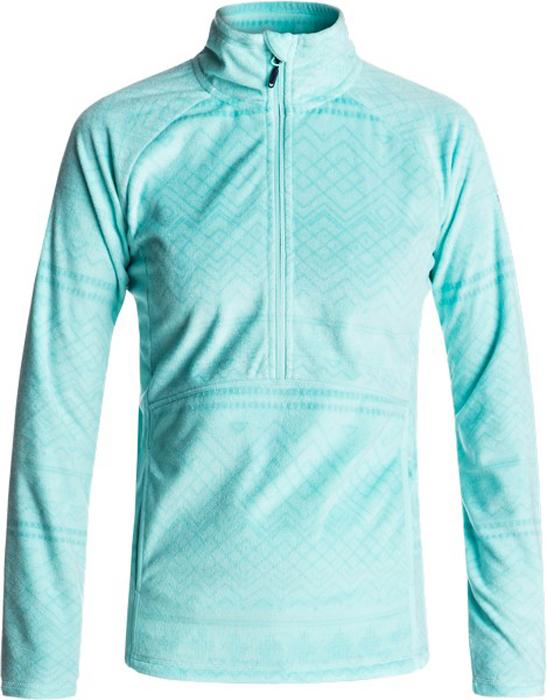 Куртка жен Roxy, цвет: бирюзовый, голубой. ERJFT03562-BFK5. Размер L (46)ERJFT03562-BFK5