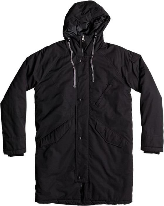 Куртка муж Quiksilver, цвет: черный. EQYJK03351-KVJ0. Размер S (46)EQYJK03351-KVJ0