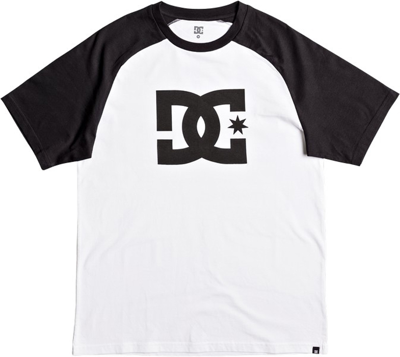 Футболка муж DC Shoes, цвет: белый. EDYZT03707-WBB0. Размер S (46)EDYZT03707-WBB0