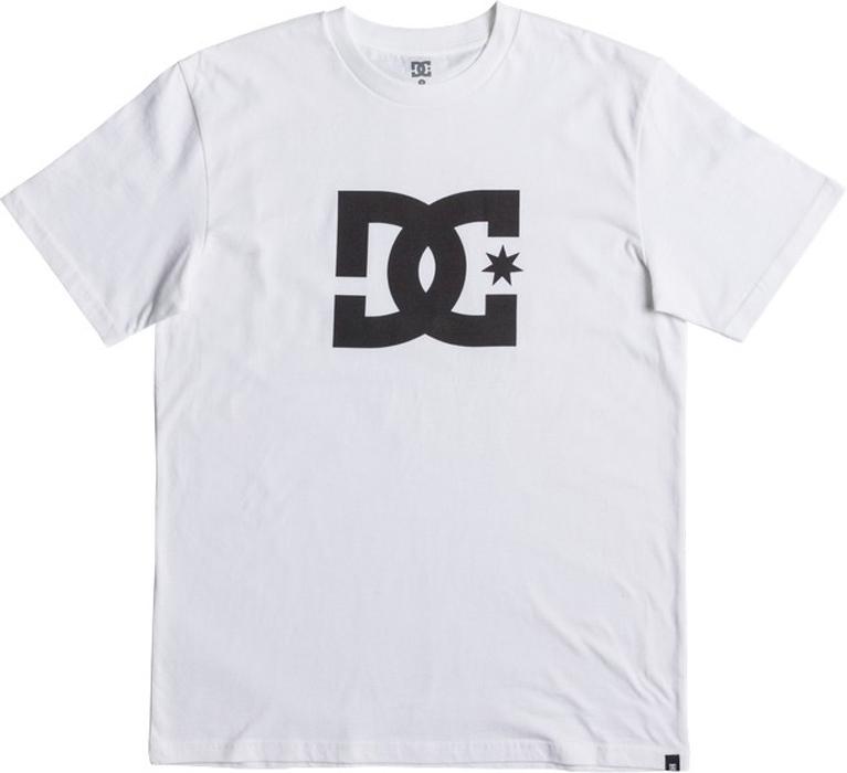 Футболка мужская DC Shoes Star, цвет: белый. EDYZT03721-WBB0. Размер S (46)EDYZT03721-WBB0Мужская футболка от DC Shoes выполнена из натурального хлопкового трикотажа. Модель с короткими рукавами и круглым вырезом горловины на груди оформлена принтом в виде фирменного логотипа бренда.