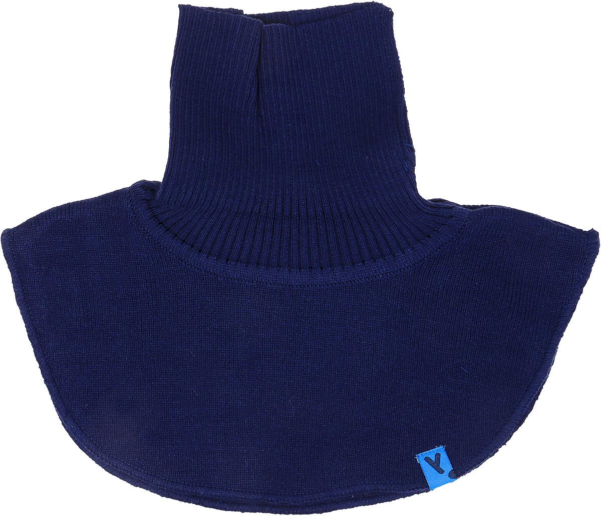 Манишка для мальчика PlayToday, цвет: темно-синий. 371177. Размер 50371177Воротник-манишка PlayToday - отличная альтернатива шарфу. Модель хорошо закрывает горло, спинку и грудь ребенка. За счет высокого содержания натурального хлопка материал воротника не раздражает нежную детскую кожу.Уважаемые клиенты!Размер, доступный для заказа, является обхватом головы.