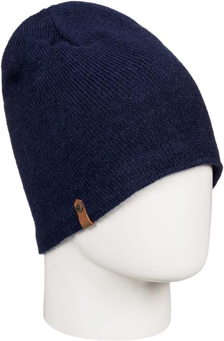Шапка жен Roxy, цвет: темно-синий, темно-серый, темно-фиолетовый. ERJHA03277-BTN0. Размер универсальныйERJHA03277-BTN0