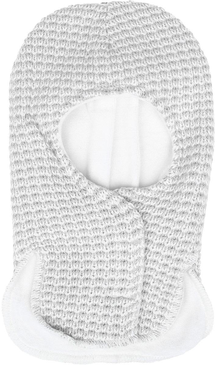Шапка для мальчика PlayToday Baby, цвет: серый. 377814. Размер 42377814Двухслойная шапка для мальчика PlayToday Baby - отличное решение для зимнего гардероба ребенка. Изделие выполнено из качественного трикотажа крупной вязки с мягкой подкладкой и дополнено липучками. Шапка хорошо прилегает к голове и комфортна при носке, плотно закрывает шею и грудь ребенка. В области ушей имеются специальные ветрозащитные вставки.Уважаемые клиенты!Размер, доступный для заказа, является обхватом головы.