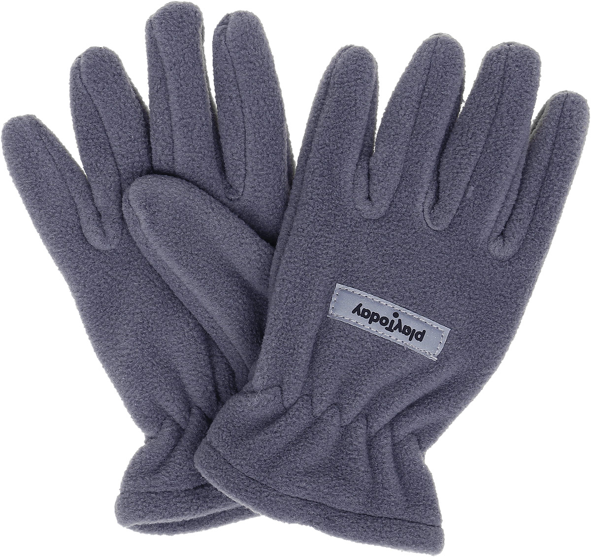 Перчатки для мальчика PlayToday, цвет: серый. 370012. Размер 13370012Перчатки из теплого флиса PlayToday - отличное решение для прогулок в холодную погоду. Запястья модели дополнены резинкой для комфортной посадки и дополнительного сохранения тепла. Перчатки дополнены специальными крючками, при необходимости их можно скрепить между собой или пристегнуть к куртке.