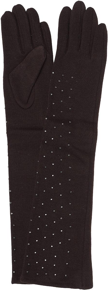 Перчатки женские Sophie Ramage, цвет: коричневый. GL-217038. Размер универсальныйGL-217038