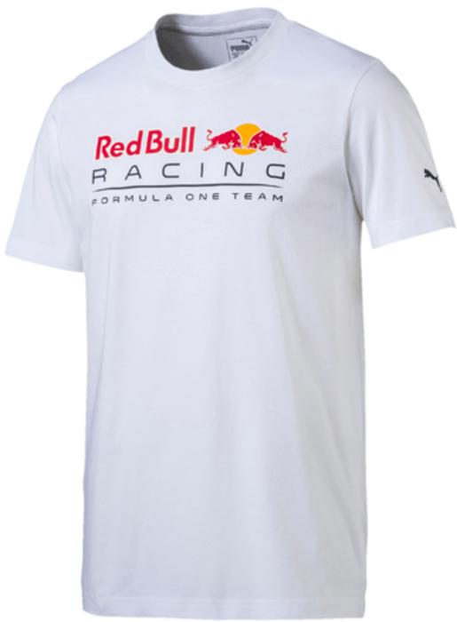 Футболка мужская Puma RBR Logo Tee, цвет: белый. 57274703. Размер S (44/46)57274703Футболка предназначена для преданных поклонников гоночной команды «Ред Булл». Она декорирована логотипом RBR на груди, нанесенным методом термопечати, и набивным логотипом PUMA.