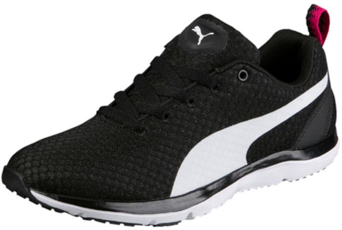 Кроссовки для фитнеса жен Puma Flex XT Wn S, цвет: черный. 19044602. Размер 4 (36)19044602