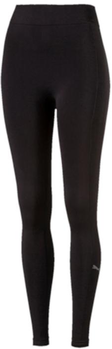 Леггинсы женские Puma EvoKnit Legging, цвет: черный. 59233301. Размер L (46/48)59233301Модель декорирована набивным светоотражающим логотипом Puma, изготовлена с использованием высокофункциональной технологии DryCell, которая отводит влагу, поддерживает тело сухим и гарантирует комфорт во время активных тренировок и занятий спортом. Использование передового фирменного вязаного трикотажа EvoKnit создает дополнительный комфорт. Фасон в обтяжку по фигуре.