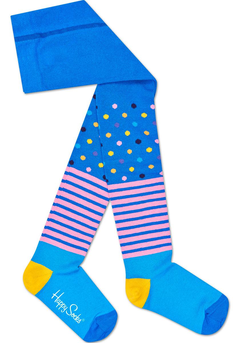 Носки детские Happy socks, цвет: голубой, мультиколор. KSDO60. Размер 14, 1,5-2 годаKSDO60