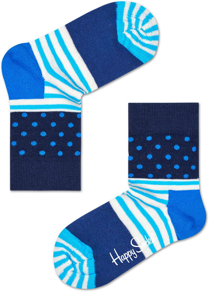 Носки детские Happy socks, цвет: синий, голубой. KSDO01. Размер 15, 2-3 годаKSDO01